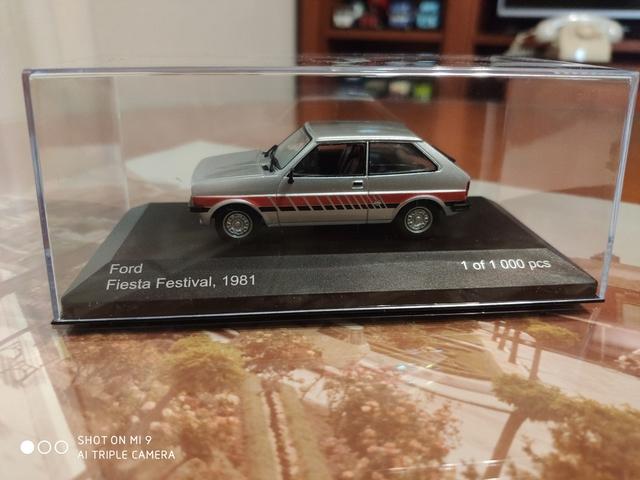 Ford Fiesta 1981 1:43 Wb