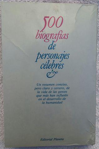 500 BIOGRAFÍAS DE PERSONAJES CÉLEBRES - foto 2
