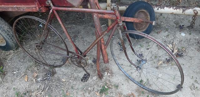Chasis Bicicleta  Clasica Con Llantas