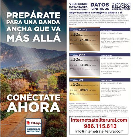 INTERNET RURAL DE ALTA VELOCIDAD - foto 1