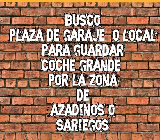 BUSCO PLAZA DE GARAJE - foto 1
