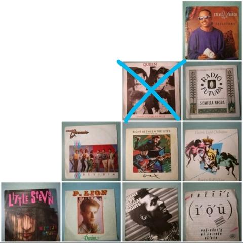 VINILOS VARIOS DE 45 RPM,  USADOS.  (LOTE - foto 1