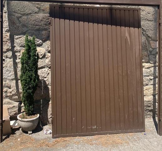 Puerta De Aluminio Galvanizado