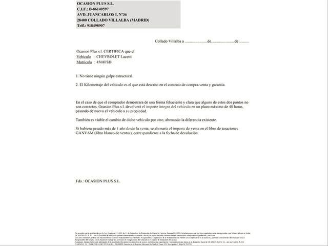CHEVROLET - LACETTI 1. 4 SE - foto 5