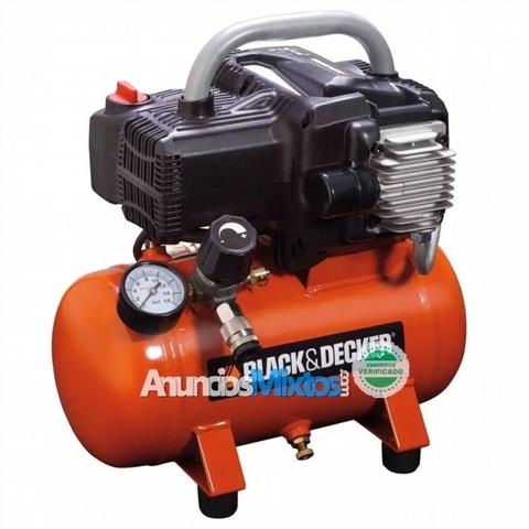 Black+Decker Compresor De Aire 6 L Nkbb3