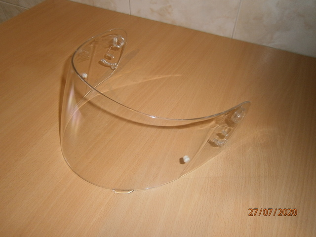 PANTALLA CASCO SHOEI XR 1000 IMPECABLE - foto 5