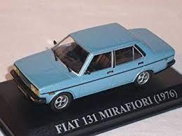 Fiat 131 Mirafiori 1976 Blau Limousine 1
