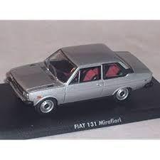 Fiat 131 Mirafiori 1974 Silber Coupe