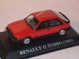 Renault 11 Turbo 1985 Rot 1/43