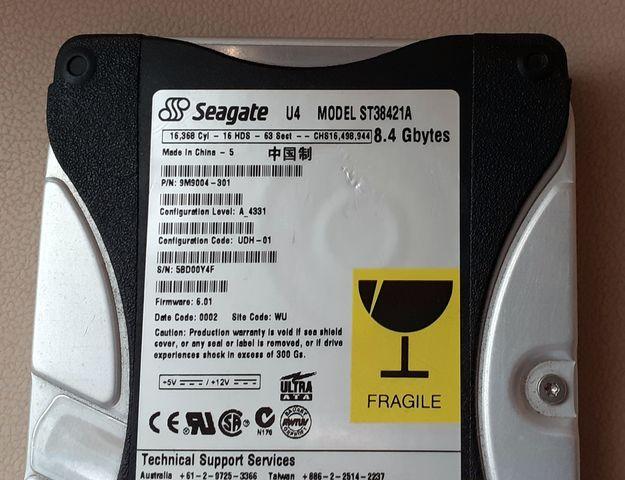 DISCO DURO SEAGATE 8, 4GB - foto 2