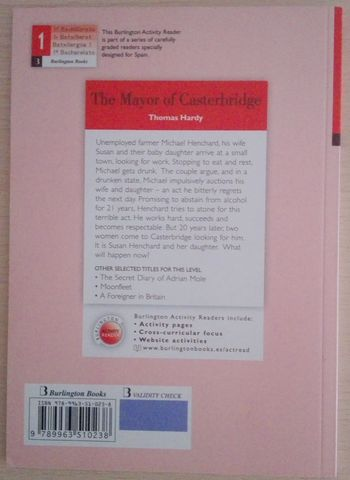 THE MAYOR OF CASTERBRIDGE(LECTURA 1BACH) - foto 2