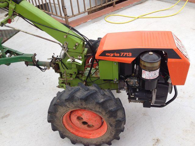 MOTOCULTOR AGRIA 7713 - foto 1