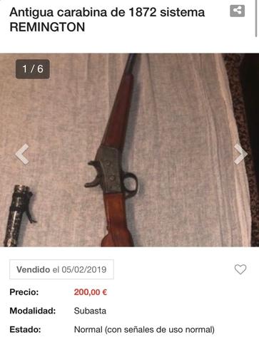 COMPRAMOS ARMAS ANTIGUAS AL MEJOR PRECIO - foto 2