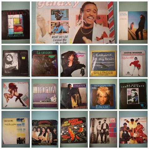 VINILOS VARIOS DE 45 RPM,  USADOS,  VINTAG - foto 1