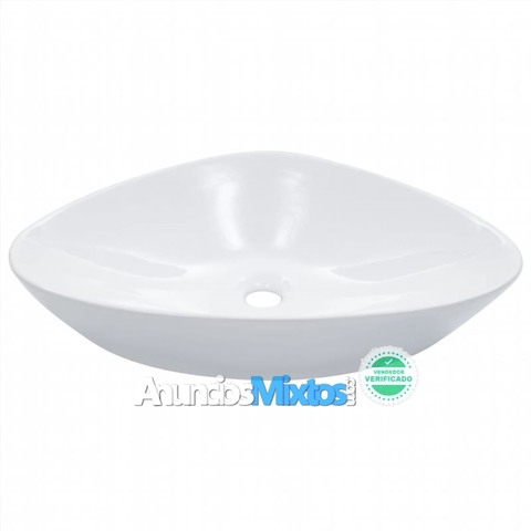 Lavabo 58, 5X39X14 Cm Cerámica Blanco