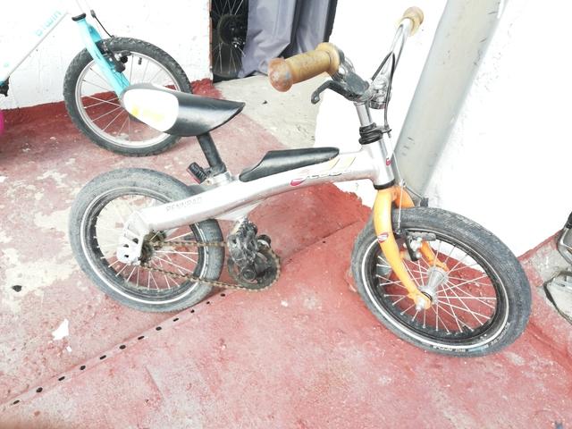 Bicicleta Aluminio Llanta 16