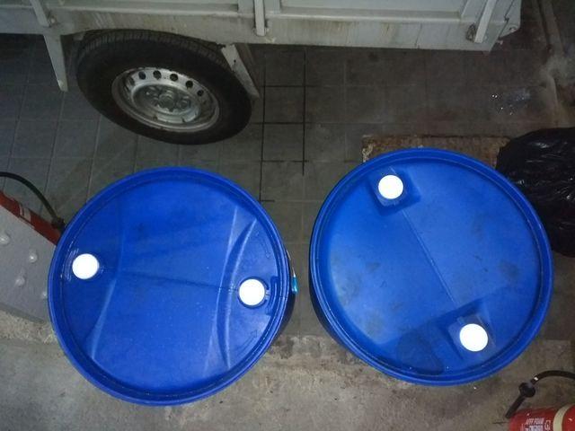 Bidones Pvc Azul 200L