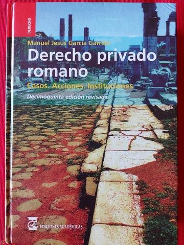 DERECHO PRIVADO ROMANO.  UNED - foto 1