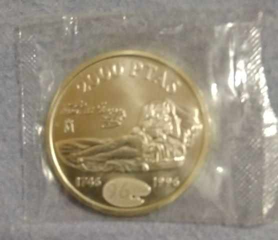 2000 Pesetas Plata 1996
