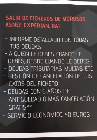 INFORME ASNEF-EXPERIAN. SALIR DE ASNEF - foto 2
