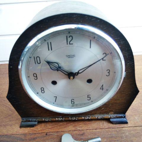 Reloj Inglés De Sobremesa Años 50
