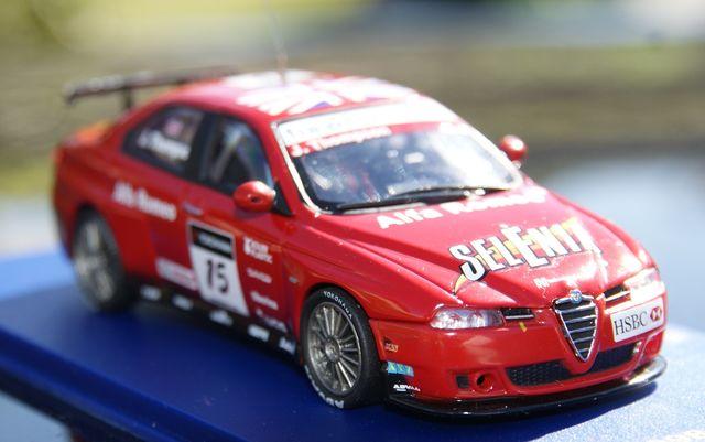 Alfa Romeo 156 Gta Wtcc 2007 Edicion Lim