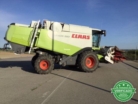 CLAAS LEXION 550 - foto 6