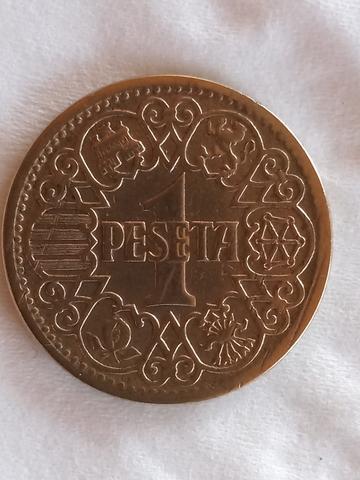 Peseta 1944 Impecable ** .