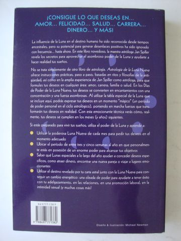 ASTROLOGÍA DE LA LUNA NUEVA JAN SPILLER - foto 2