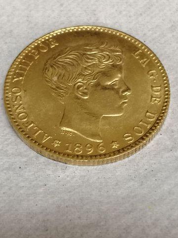 Monedas De Oro Españolas.