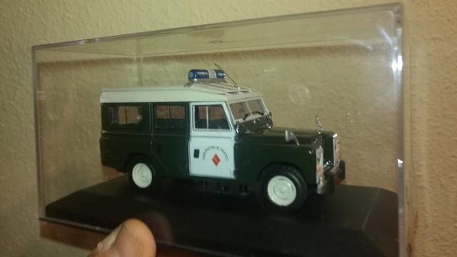 Land Rover 109 Especial Guardia Civil