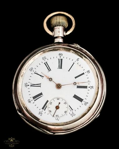 Reloj Antiguo De Bolsillo De Cuerda