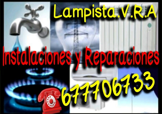 LAMPISTA/ELECTRICISTA/FONTANERO/CLIMA.  - foto 1