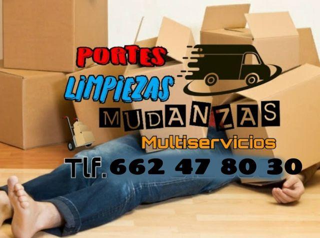 TRANSPORTES MUDANZAS DESALOJOS LIMPIEZAS - foto 1