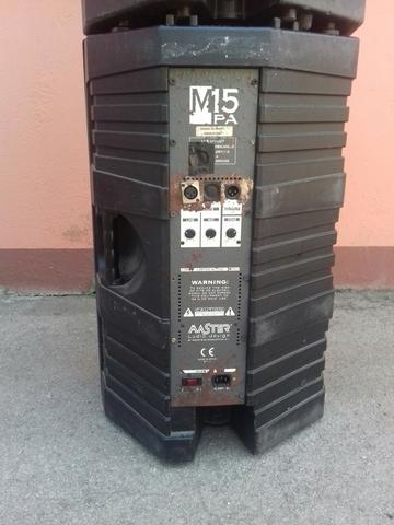 ALTAVOCES AMPLIFICADOS MASTER M15 PA - foto 4