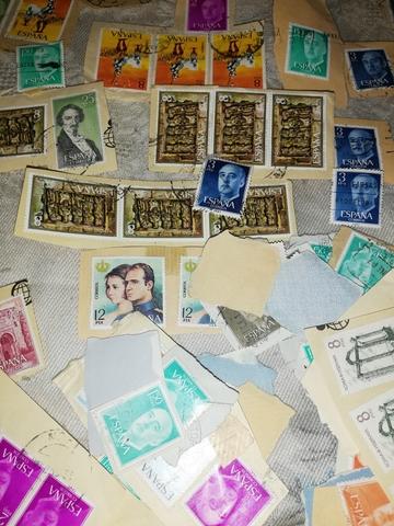 Antiguos Sellos Postales De España