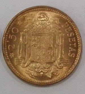 Venta Moneda De 2,5 Pesetas