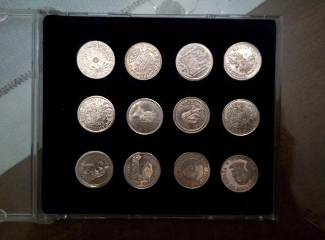 Colección Monedas De La Historia De Espa