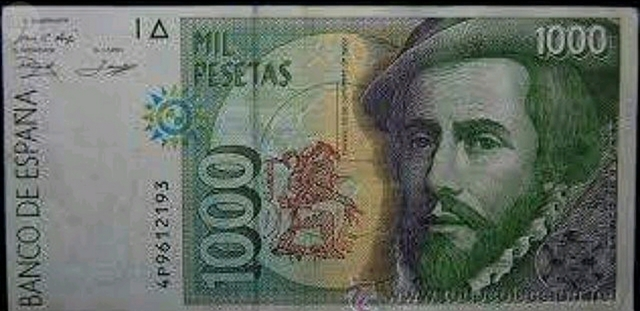 Billete 1000 Pesetas 1992