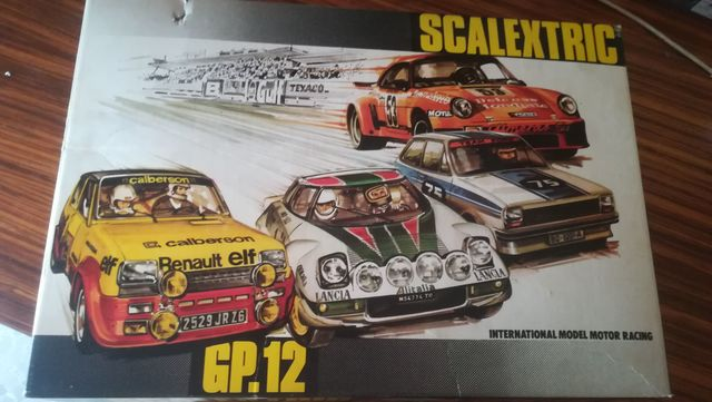 Lote Escalextric Gp-12,Tcr,Y Material...