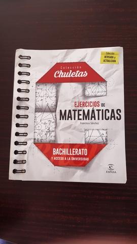EJERCICIOS DE MATEMÁTICAS PARA BACH - foto 1