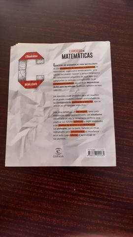 EJERCICIOS DE MATEMÁTICAS PARA BACH - foto 2