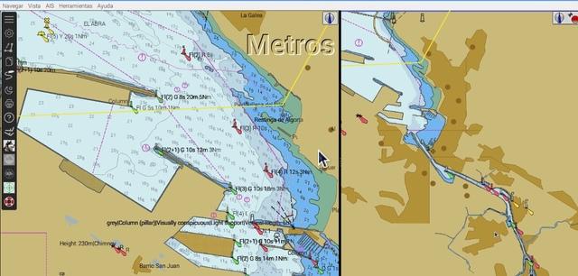 PLOTTER NAVEGADOR NÁUTICO CON ANTENA GPS - foto 1