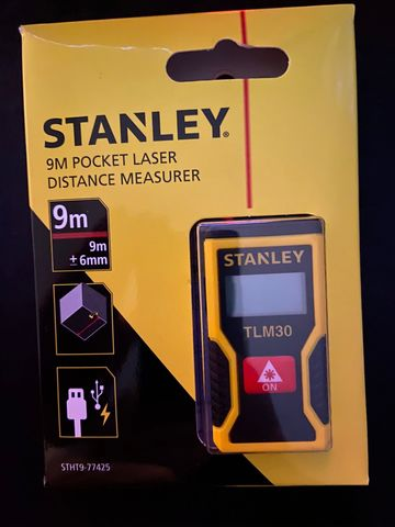 Nuevo Distanciómetro Laser Stanley Mini