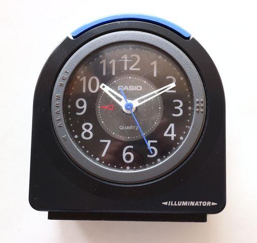 Reloj Despertador De Campana Casio