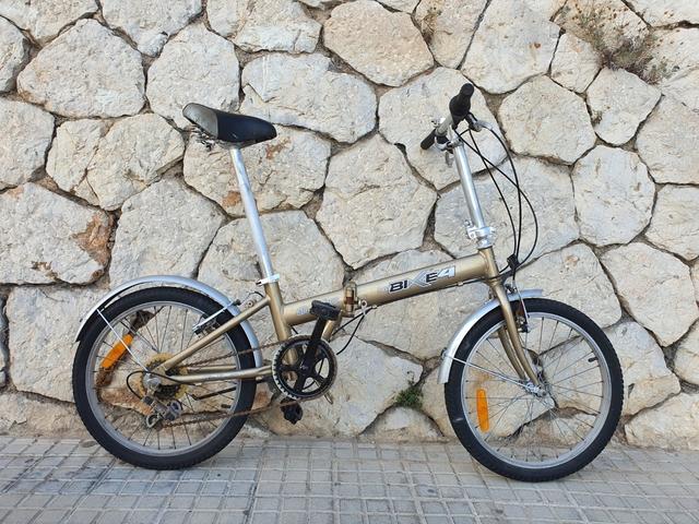 Bicicleta Plegable Easybike 4 Aluminio