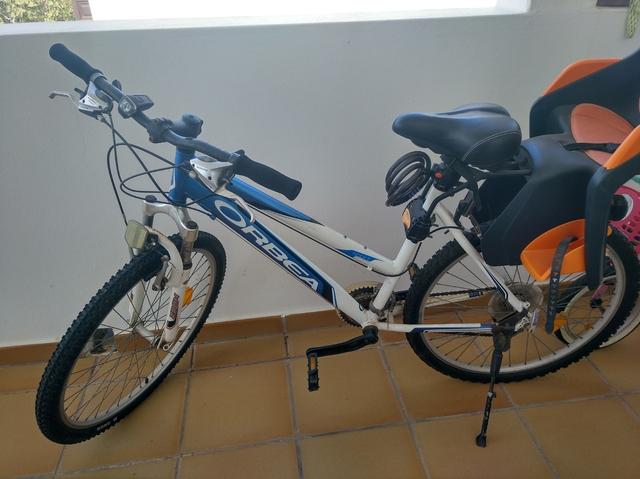 Bicicleta Con Silla Portabebes
