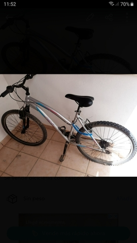 Bicicleta Con Casco