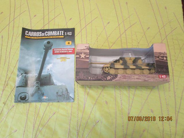 Tanque Altaya 1/43 Nº4 Panzerjager Tiger