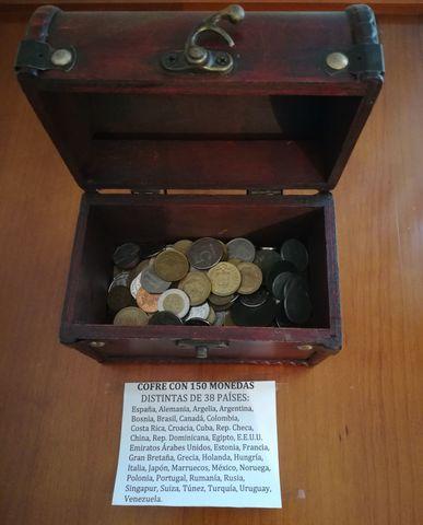 Cofre Con Monedas